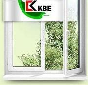 Окна пластиковые из немецкого профиля  КВЕ.