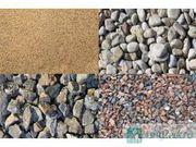 песок,  щебень,  ОПГС,  битый кирпич,  строительные доски