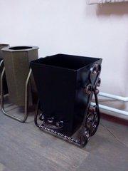 Урна для мусора металлическая