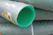 Дренажные гофрированные одностенные ПНД трубы с фильтром