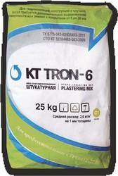 Штукатурная смесь гидроизоляционная  КТ Трон-6 (выравнивающая и финишная