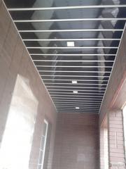 Потолок Реечный Подвесной Алюминиевый