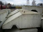 Утяжелители бетонные охватывающего типа УБОм